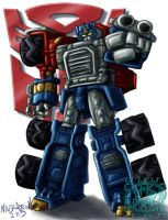 TF Armada: Optimus Prime by ninjatron