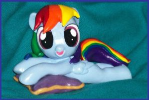Little Filly Dashie Pillow Pony 4 sale 2 by MadPonyScientist