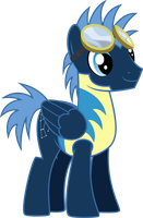 Cadet Star Hunter by violetferret