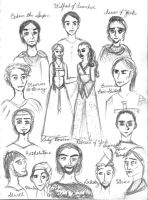 Characters of Ivanhoe by Ninquetolliel