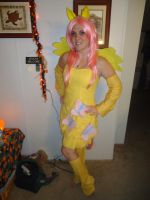 Fluttershy Costume by LindyArt