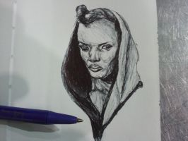 Ballpoint Sketch 5 by danebrown
