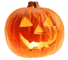Halloween Pumpkin PNG by LG-Design
