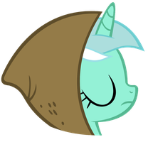 Lyra with hood by IamthegreatLyra