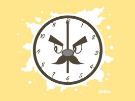 Clock Face by Lord-of-the-crayons