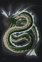 Teh Great Serpent by Snowflakeytherat