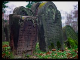 Jewish Graveyard: Together by deadward1555