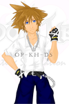 Sora Game Graphic by OP-KingdomHearts-DS