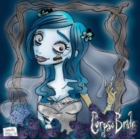 :: The Corpse Bride :: by samycat