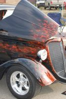 3 window coupe flames by JasonRhodekill