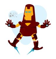 Ironman by alienbiru
