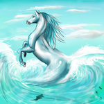 Seahorse by WolfOfTheWinterMoon