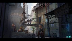 Cosmos - Back alley by ned-rogers