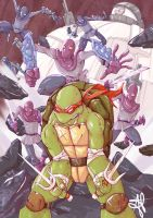 Raph vs the world by alecable