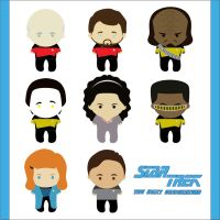 Star Trek: The Next Generation Characters by Lord-of-the-Fandoms