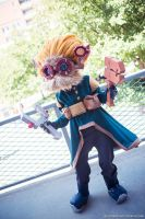 Heimerdinger Cosplay by lncolore