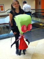 Invader Zim by Yuki-LoneWolf
