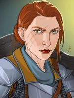 Inquisitor Thessia by Merwild