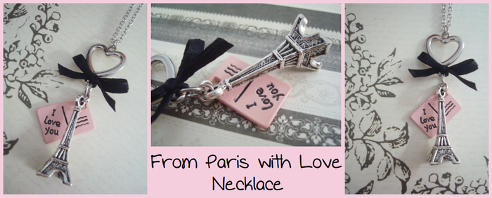 From Paris with Love Necklace by Feyon