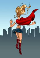 Supergirl by aceswordsman