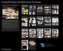 Digital photo editing by Merkulov