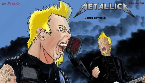 James Hetfield Final from. Life, Passion and Glory by fer2306