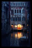 Venetian night - 1 by anjali