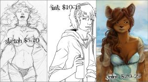 Commission Prices by Eshva
