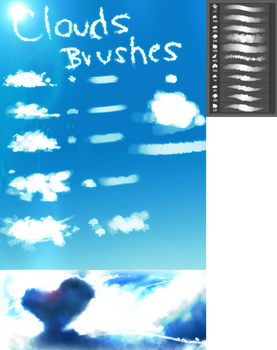 Clouds BRUSHES by ryky