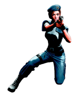 Jill Valentine-RE Deadly Silence PNG by Isobel-Theroux