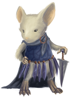 Mouse Guard Concept: Gwendolyn by RobinF