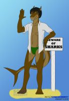 Shark Week - Eddie by SonicHomeboy