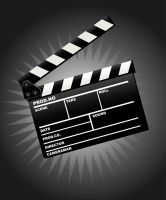 Movie clapper board by zabiamedve