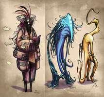 The book of Monsters - October 30, 2012 by JohannesVIII