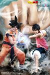 Goku X Luffy cosplay by jeffbedash325