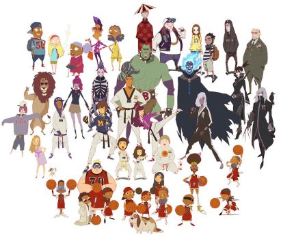 Characters by kse332