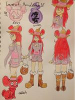 Leveret Reference Sheet by CrypticCharmander