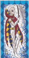 Lord Ghirahim bookmark by VickyViolet