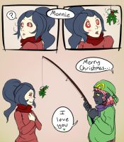 HPM: Shoal and Monnie X-Mas by Prismshard