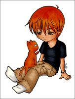 Fruits Basket: Chibi Kyo by Maxx-V