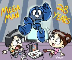 Mega Man 28 by kenshinmeowth