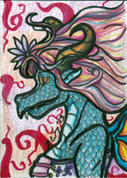 Darling Dragon artist trading card by AluminumSunset
