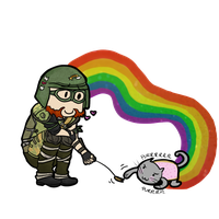 Nyan Resistance by Mikkynga