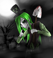 Gaffie the grave digger by Corpse-boy