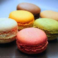 macarons by illusionality