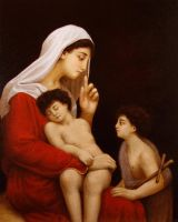 Madonna and Child by Lasarasu