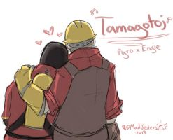 TF2-Tamagotoji PyroxEngie VIDEO by MadJesters1