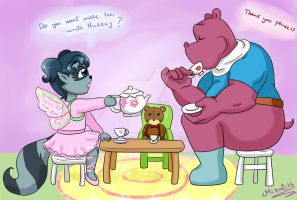 Tea party by Miralith