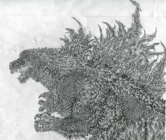 Legendary Pictures Godzilla II by Kongzilla2010