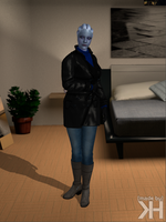 Liara Winter Outfit (XPS) by Grummel83
